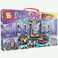 Mainan Block Lego Friends SY380 - Panggung Selebriti Show 476 Pcs
