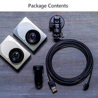 Jual Xiaomi Yi Smart Car Dash Cam Camera DVR MOBIL Wifi 1080P Gold Silver Murah