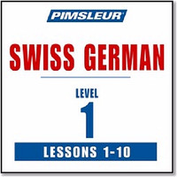 DVD Pimsleur Audio DVD Pimsleur Swiss German (Lessons 1-10) [mp3+ebook