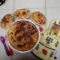 cheesy baked potato (18x12 cm)