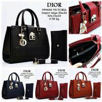 Tas Wanita Import / Dior / Tas Plus Dompet