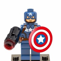 Captain America 259 Marvel Avengers Super Heroes Lego KW Xinh