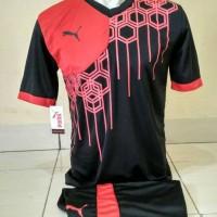JERSEY PUMA / Kostum Bola / Kaos Setelan Futsal / Baju Tim Volly