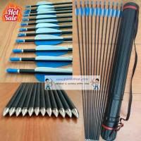 Jual Anak Panah Karbon / Carbon Arrow Import 6 mm Murah Murah