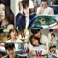 "Film korea drakor ""W"" 20 Episode"