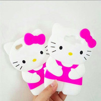 case silicone hello kitty HK body iphone 6 6s 5 5s j2 j5 j7 j5 2016