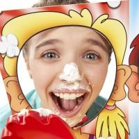 Sugu Pie Face Showdown 2 Layer Permainan Lempar Kue