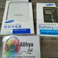Batre Baterai + Destop Charger Samsung Note 3 Original Battery Kit