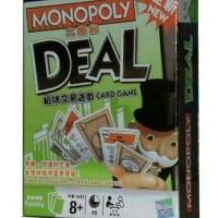 Jual monopoli deal biard games mainan anak kreatif edukatif english version Murah