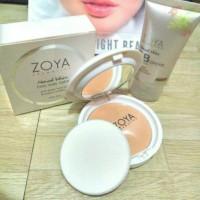 Zoya Two way Cake (bedak) + Zoya Bb cream