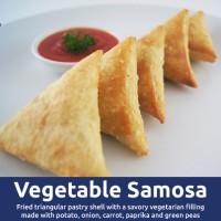 Sambosa Sambusa Samosa Rasa Sayur Vegan - Piramida Food