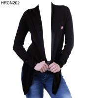 Jaket / Sweater Wanita HRCN Original 100% - HRCN202 HITAM