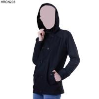 Jaket / Sweater Wanita HRCN Original 100% - HRCN203 HITAM