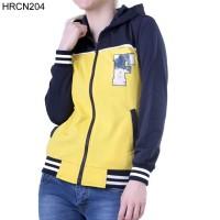 Jaket / Sweater Wanita HRCN Original 100% - HRCN204 BIRU KOMB