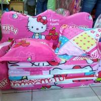 sofa bed anak hello Kitty pink