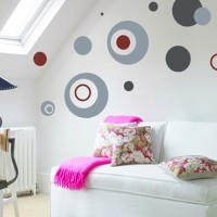 Jual Wall Sticker / Wall Stiker / Wallsticker / Dinding 102 Polka Dot Murah