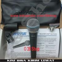Mic SHURE Beta 58A / 58 A SEMI ORI Cable Microphone Kabel Microphone