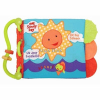 BELI Baby Talk - Softbook Teether - One Sunny Day PALING LARIS