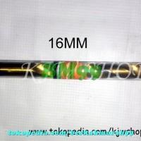 Promo Mata Bor Besi TinCoated Kuningan 16mm MURAH