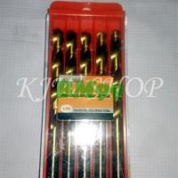 Promo Mata Bor Besi TinCoated Kuningan 9mm MURAH