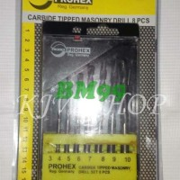 Promo Mata Bor Beton Set 8pcs Merk PROHEX (Germany)