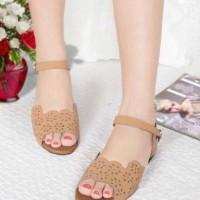 Jual Sandal wanita flat etnik [ sepatu / sendal cewek ] Murah