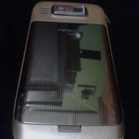 Casing Nokia Qwerty E72 Fullset Gold Original China BARU