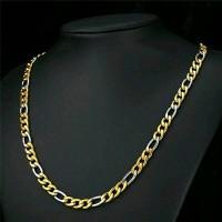 Kalung Rantai Gold Silver Titanium 316L