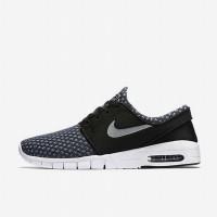 Sepatu Casual Nike SB Stefan Janoski Max Grey Original 631303-004
