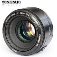 harga Lensa Yongnuo 50mm f1.8 for Canon / fix Lens Tokopedia.com
