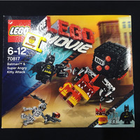 Lego Original Batman Super Angry Kitty Attack Movie Superheroes