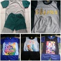 stelan anak murah / baju harian anak usia 1-3 tahun