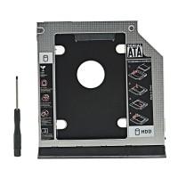 HDD Caddy untuk Dell Latitude E6430 Lengkap Bezel dan Ejectornya
