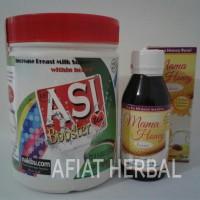 Jual Paket Hemat Asi Booster Tea + Madu Mama Honey Busui Murah