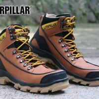 Sepatu Best Seller / Sepatu Trendy / Sepatu Caterpillar Boots Safety U
