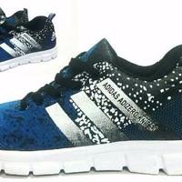 Promo Discount Sepatu Adidas Adi Zero Knite Biru Casual Jogging Sport