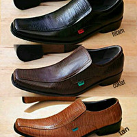 Sepatu Promo Murah / Sepatu Boot / Sepatu Kickers Pantofel Kulit Rata