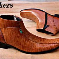 Sepatu Murah / Sepatu Murah / Sepatu Kickers Pantofel Kulit Warna Tan