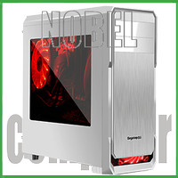 SEGOTEP GAMING CASE THE WIND White Silver - Side Window - 12CM Led Fan