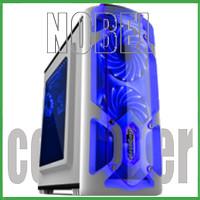 SEGOTEP GAMING CASE POLAR LIGHT WHITE - Side Window - 1x LED Fan