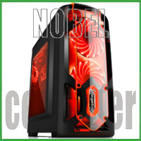 SEGOTEP GAMING CASE POLAR LIGHT BLACK - Side Window - 1x LED Fan