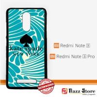 kate spade logo Z3092 Xiaomi Redmi Note 3 / Note 3 Pro Custom Case Cov