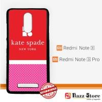 kate spade logo X3212 Xiaomi Redmi Note 3 / Note 3 Pro Custom Case Cov
