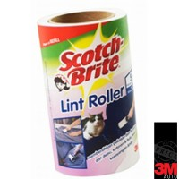 3M Scotch Brite Lint Roller Refill / Pembersih bulu / Pet Hair Roller