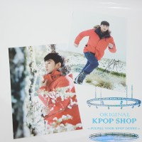 KPOP KIM SOO HYUN WITH SIGNATURE TYPE A POSTER IMPORT
