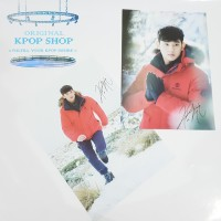 KPOP KIM SOO HYUN WITH SIGNATURE TYPE C POSTER IMPORT