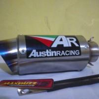 knalpot motor Gp2R austin Racing