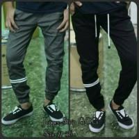 Celana Panjang Jogger Pants Strip Naruto 27-32 Dc, Vans, Dll