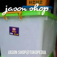 Box plastik Mega CB 130/Box kontainer Mega shinpo CB 130/Box plastik