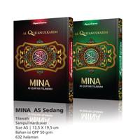 Al Qur'an Mina A5 Hard Cover, AlQuran Mushaf Tilawah Syaamil Quran